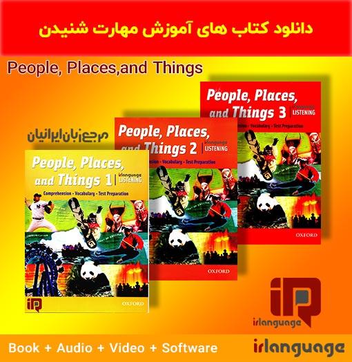 دانلود سری مهارت شنیداری People ,Places,and Things